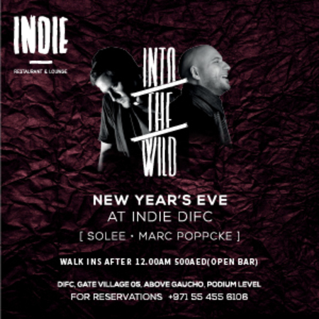 Into the Wild: NYE 2016