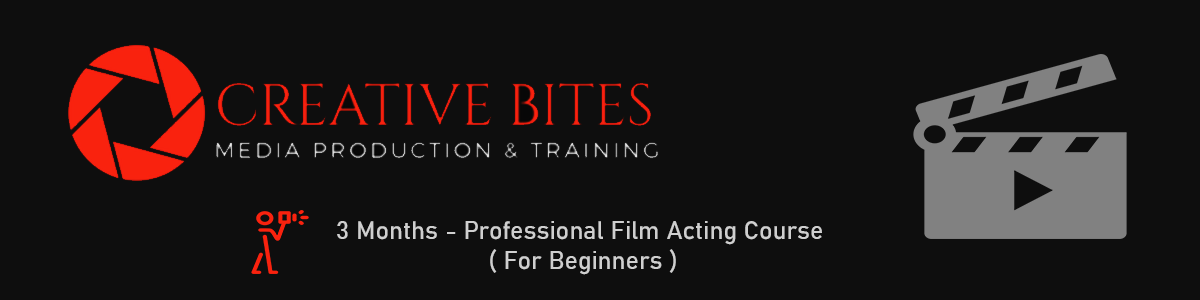 3 Months Professional Film Acting Course