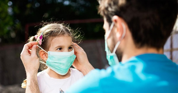 Children over three years of age 'must' wear face masks