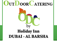 Outdoor Catering service by Holiday Inn