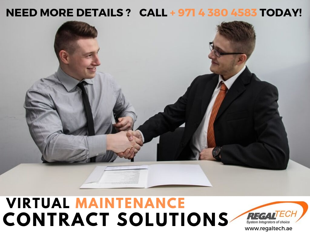 Virtual Maintenance Contract Solutions - Regal Technologies