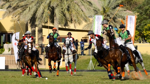 Dubai Polo Gold Cup series 2016