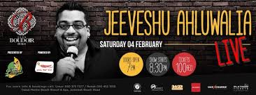 Stand-up Comedy with Jeeveshu Ahluwalia