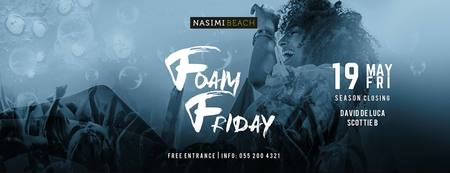 Foam Party at Nasimi Beach