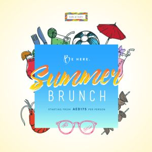 Summer Brunch at Bab Al Bahr Beach Bar and Grill