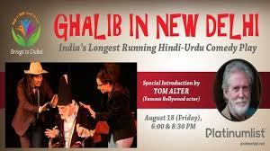 Ghalib in New Delhi