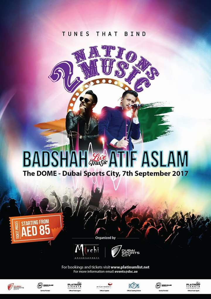 Atif Aslam and Badshah Live In Dubai