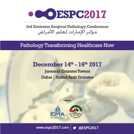 Third Emirates Surgical Pathology Conference(ESPC 2017)