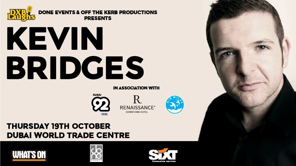 Kevin Bridges Live in Dubai