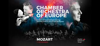 Chamber Orchestra of Europe Playing Mozart