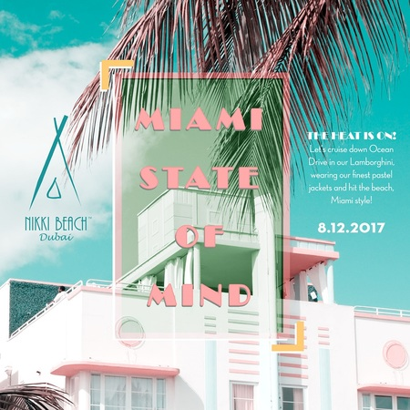 Miami State of Mind at Nikki Beach Dubai