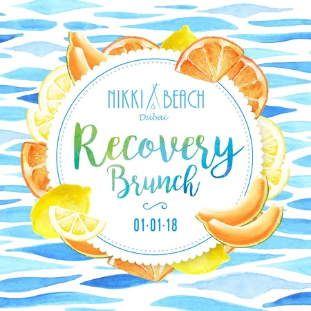 Recovery Brunch at Nikki Beach Dubai