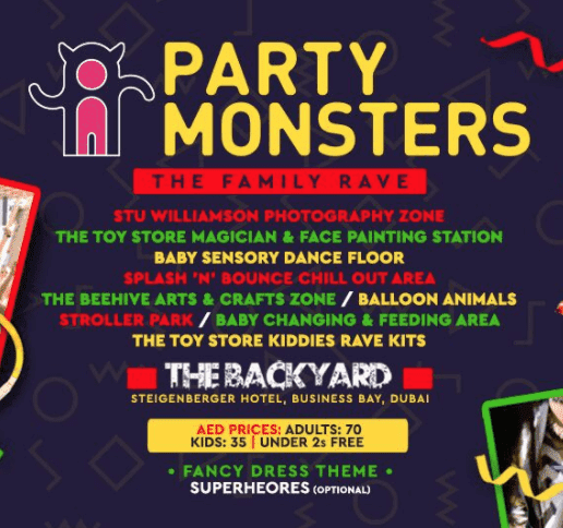 Party Monsters - The Family Rave