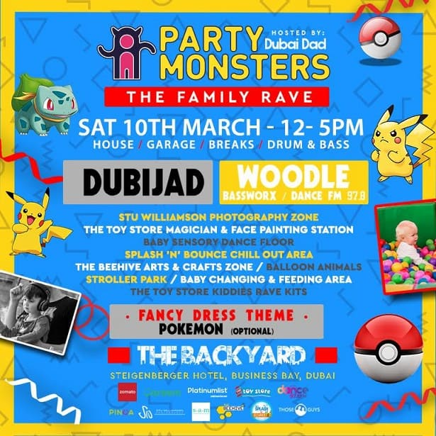 Party Monsters Pokemon Rave Season Closing Party