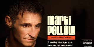 Marti Pellow Live in Dubai