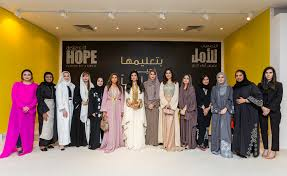 Designers of Hope at Dubai Ladies Club