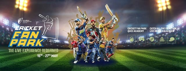 IPL Live from Cricket Fan Park