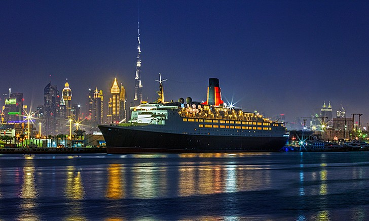 Floating Iftar on the QE2