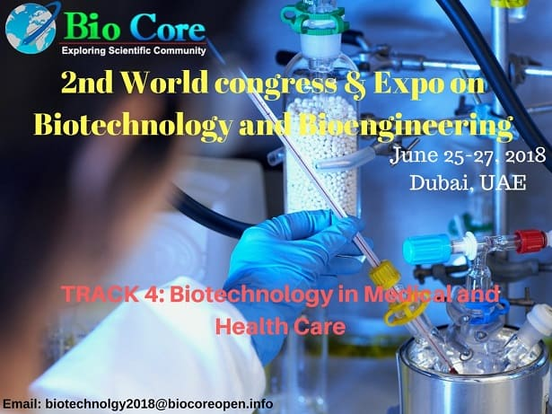 World Congress & Expo -Biotechnology and Bioengineering