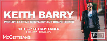 Irish mentalist Keith Barry coming to Dubai