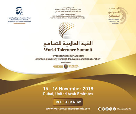 World Tolerance Summit