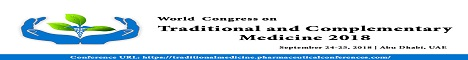 World Congress on Traditional & Complementary Medicine