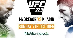 McGregor VS Khabib Fight LIVE Dubai