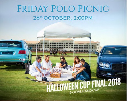 Halloween Cup Final 2018 & Friday Polo Picnic