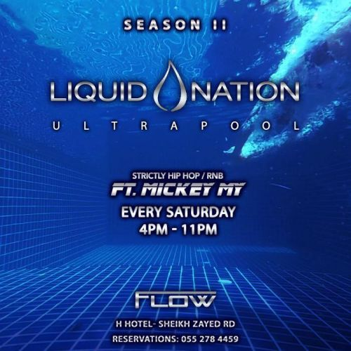 Liquid Nation ULTRAPOOL Party