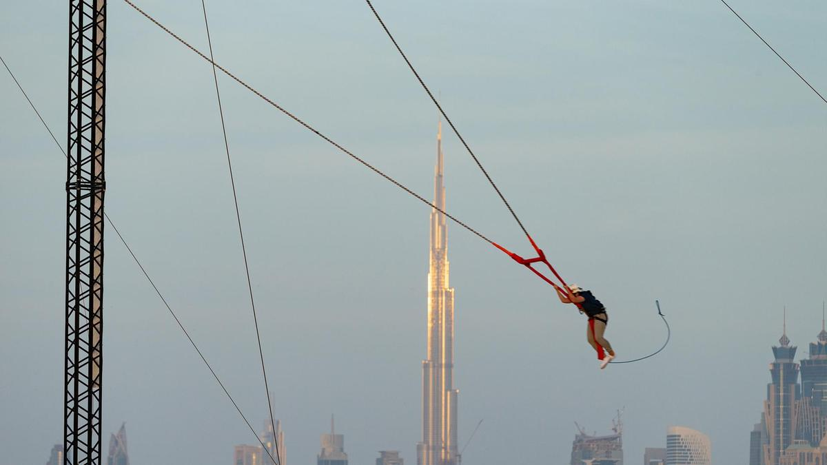 ​XDubai Slingshot at Kite Beach