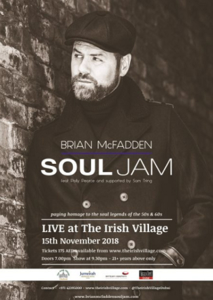 Brian McFadden Live at Irish Village