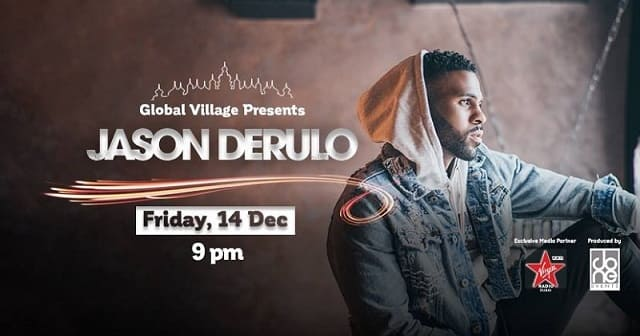 ​Jason Derulo at Global Village