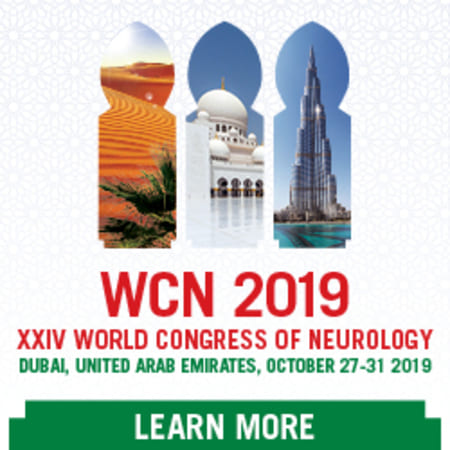 XXIV WORLD CONGRESS OF NEUROLOGY - WCN 2019