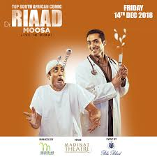 ​Riaad Moosa Live at Madinat Theatre