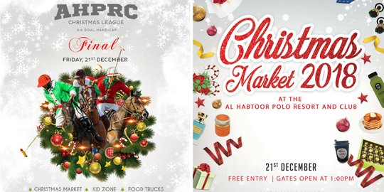 AHPRC Christmas League 2018