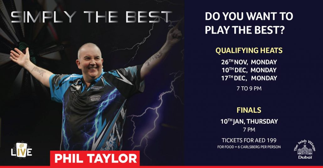 Irish Village - an Evening with Phil The Power Taylor