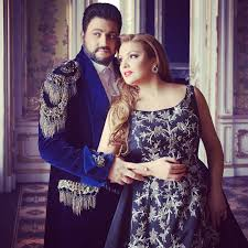 ​Anna Netrebko and Yusif Eyvazov at Dubai Opera