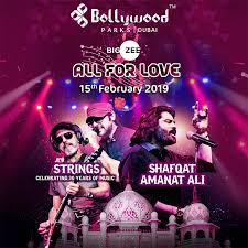 Bollywood Parks presents All For Love