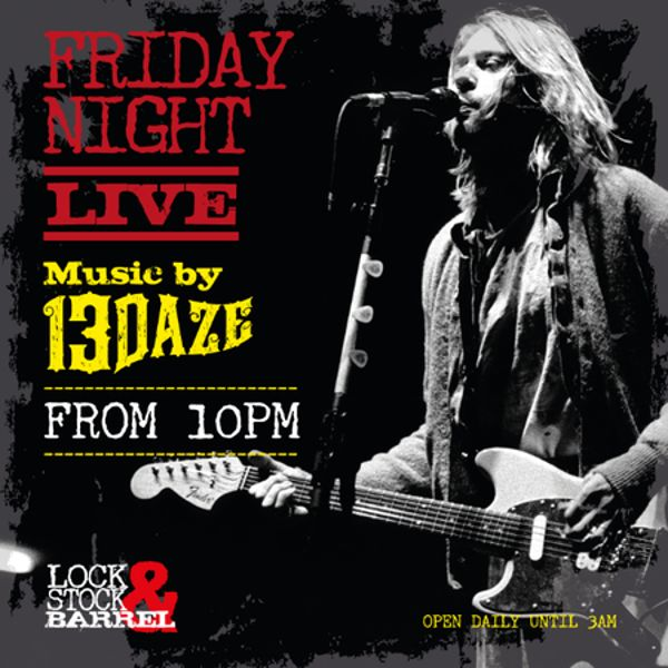 Friday Night Live at Lock, Stock & Barrel Dubai