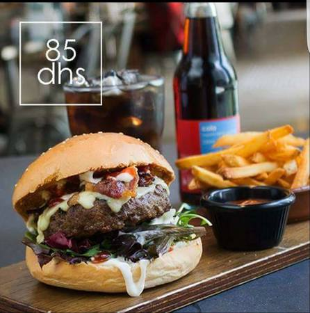 Burger and Hops at Dh.85 every Thursday