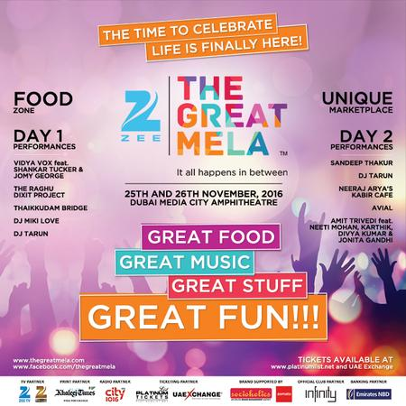 Zee The Great Mela