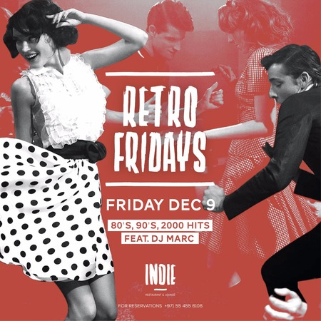 Retro Fridays: The Debute, Feat. DJ Marc