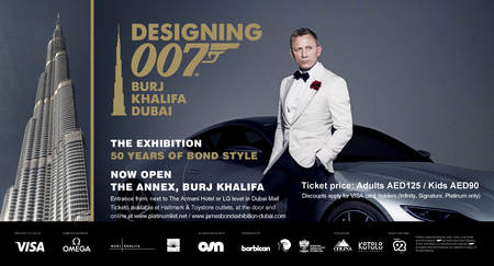 The James Bond Exhibition-Designing 007