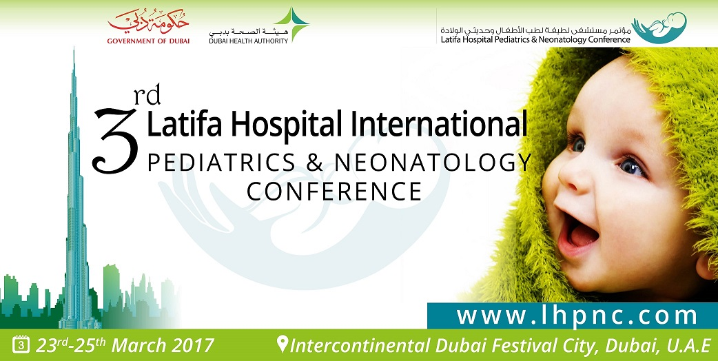 3RD LATIFA HOSPITAL PEDIATRICS & NEONATOLOGY CONFERENCE