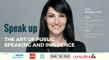 Speak up - The Art of Public Speaking and Influence