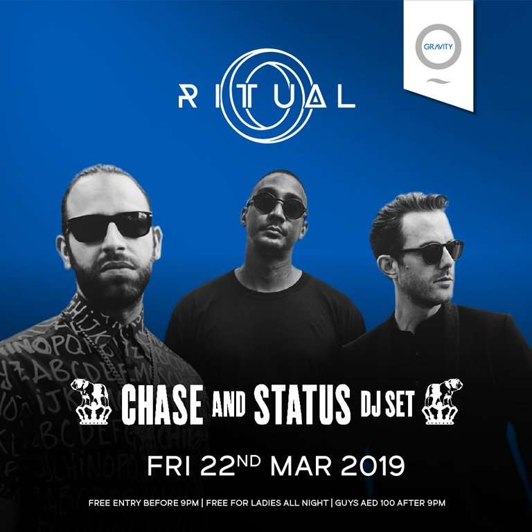 Chase & Status at Zero Gravity