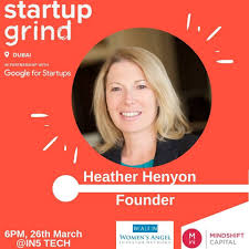Startup Grind Hosts Heather Henyon