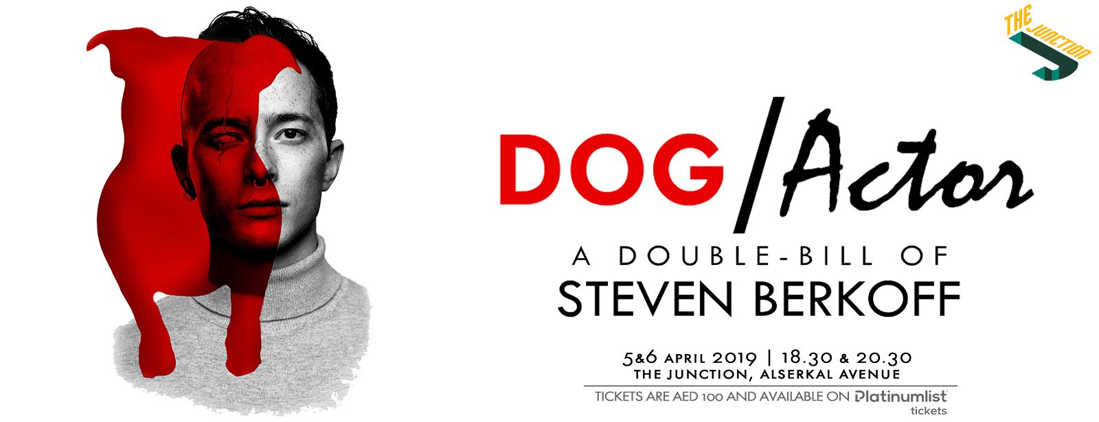 Dog/Actor by Steven Berkoff
