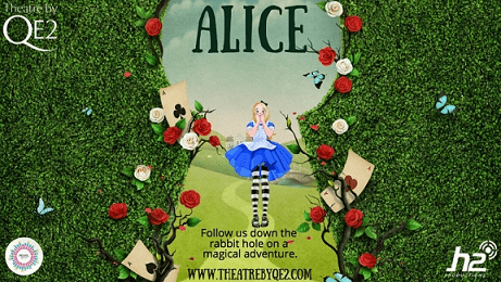 Alice in Wonderland is coming to the QE2 theatre