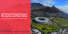 2nd Intl Conference on Nursing Care & Patient Safety